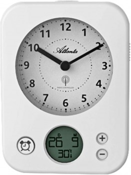 Radiostyret vækkeur med LCD display