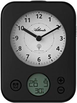 Vækkeur radiostyret med digital minutur