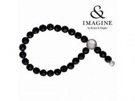 Imagine armbånd med sort onyx2804002