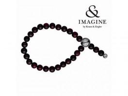 Imagine armbånd med træ perler2804009