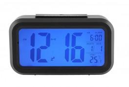 Vækkeur med LED display med store tal.