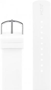Picto hvid silikonerem 0220S