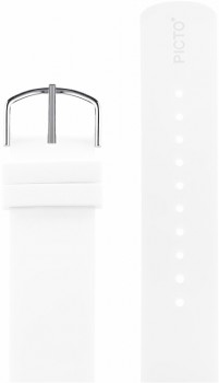 Picto hvid silikonerem 0222S