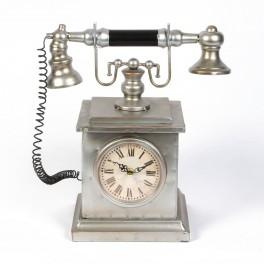 Retro telefon med ur W2808