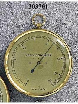 Haar hygrometer 100 mm-20