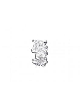 Story sølv ring, blomster-20