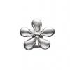 STORY sølvled med blomst-0