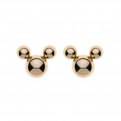 Disney 9 kt. guld ørestikker Mickey Mouse af 3 kugler